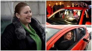 Ce mașină conduce Diana Șoșoacă. Deși are o avere impresionantă, merge cu un automobil ieftin