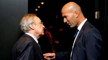 Prima reacție a lui Zinedine Zidane după ce a demisionat de la Real Madrid! Ce îi reproșează lui Florentino Perez
