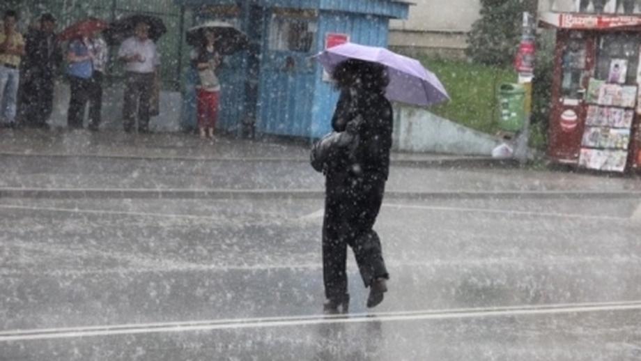ALERTĂ METEO de ploi în toată ţara