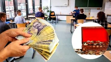 Veşti proaste pentru profesori! Cadrele didactice care cer bani de la părinţi pentru fondul clasei ar putea fi amendaţi
