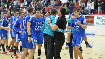 SPECTACOL românesc în Liga Campionilor! Minaur s-a impus la Skopje şi speră la calificare