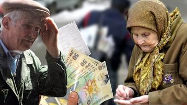 Cât este pensia medie lunară în România. Suma de bani pe care o încasează acești români nu este deloc mare