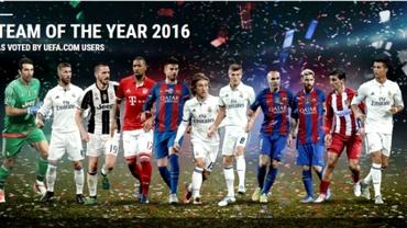 Echipa anului 2016 în viziunea fanilor. Real Madrid dă 4 jucători, Ramos, cel mai votat!