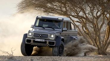 Mercedes G63 AMG 6x6 va costa 451.000 €
