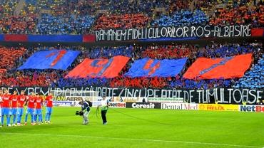 Motivele pentru care Peluza Roş-Albastră nu mai vine la meciurile FCSB: