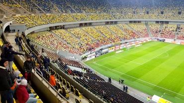 Imagini dezolante pe Arena Națională! 3.400 de suporteri au asistat la FCSB - Astra. GALERIE FOTO