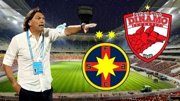 Dario Bonetti, amintiri sumbre de la ultimele derby-uri cu FCSB pe banca lui Dinamo! Ce rezultate a înregistrat antrenorul italian
