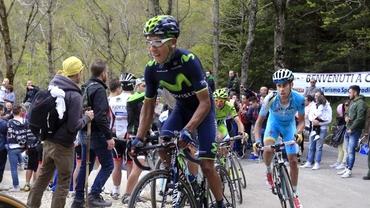 Surpriză în Giro! Nairo Quintana e noul LIDER după o etapă NEBUNĂ