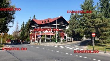 Hotelul Simonei Halep din Poiana Brașov este închis și pare părăsit. Are lanțuri la porți. Foto EXCLUSIV