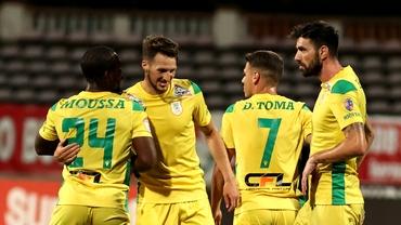 Liga 1 etapa a 6-a. CS Mioveni o învinge pe FC U Craiova 1948 datorită golului marcat de Buziuc, din penalty