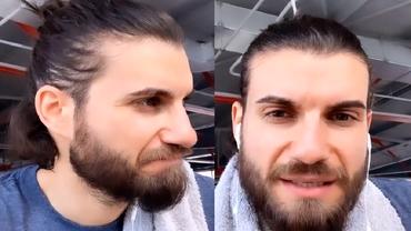 """Burlacul Andi Constantin îi îngrijorează pe fani. Are gânduri negre: """"Haideți să nu mai pozăm"""""""
