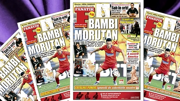 """A apărut revista Fanatik 718! """"Bambi"""" Moruțan, reportaj în copilăria lui """"Oli"""", cu bunicii """"Mama"""" și """"Oci"""""""