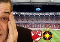 """Cinci ani de la """"cea mai mare farsă din istoria fotbalului românesc""""! Cum au fost păcăliți fanii FCSB-ului să ia parte la coregrafia lui Dinamo"""