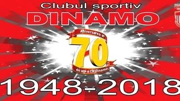 Dinamo împlinește 70 de ani. Este cel mai titrat club sportiv din România