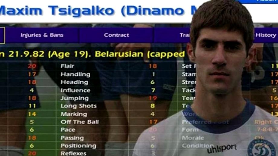 A murit Maxim Tsigalko, fotbalistul devenit celebru prin jocul Championship Manager! O accidentare i-a distrus cariera