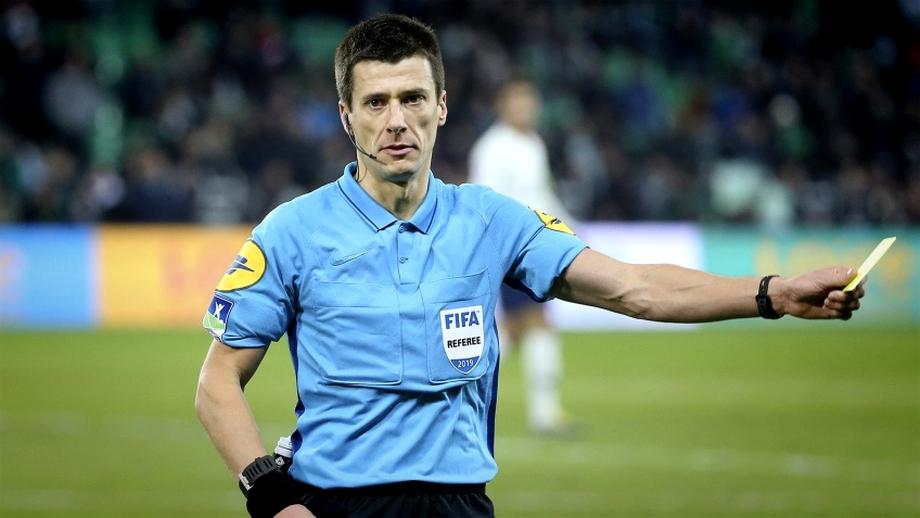 Cine este Benoît Bastien, arbitrul care a executat-o pe CFR Cluj: