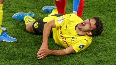 Accidentare teribilă pentru un jucător de la Dortmund. Video / Marc Marquez, căzătură groaznică la Jerez. Video