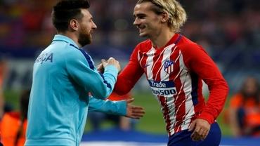 Messi îl cheamă pe Griezmann!