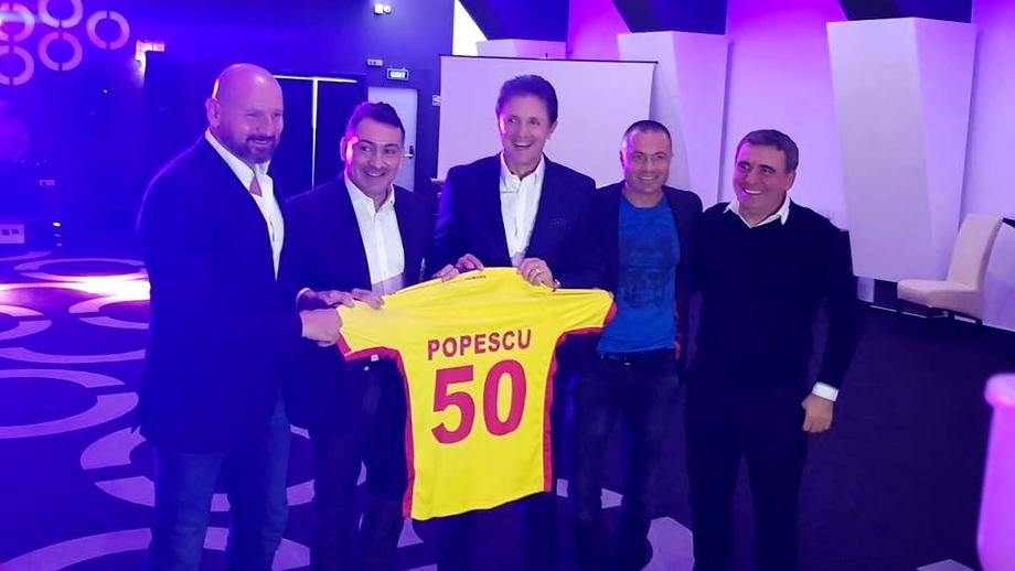 Gică Popescu, la 50 de ani! Căpitan la FC Barcelona,