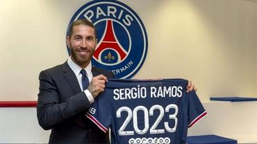 Oficial: Sergio Ramos a semnat pe doi ani cu PSG! A fost prezentat deja. Video