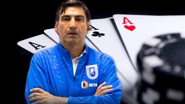 """Omul care l-a învățat poker pe Victor Pițurcă: """"Știe multe. E campion acum!"""" Exclusiv"""