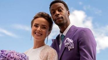 Elina Svitolina și Gael Monfils s-au căsătorit. Imagini spectaculoase de la nunta anului în tenis. Foto
