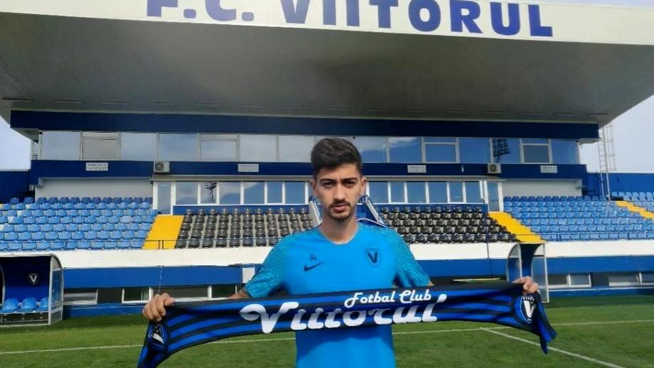 Viitorul l-a transferat pe Eduard Florescu! E al 5-lea jucător care a semnat cu echipa lui Hagi. Video