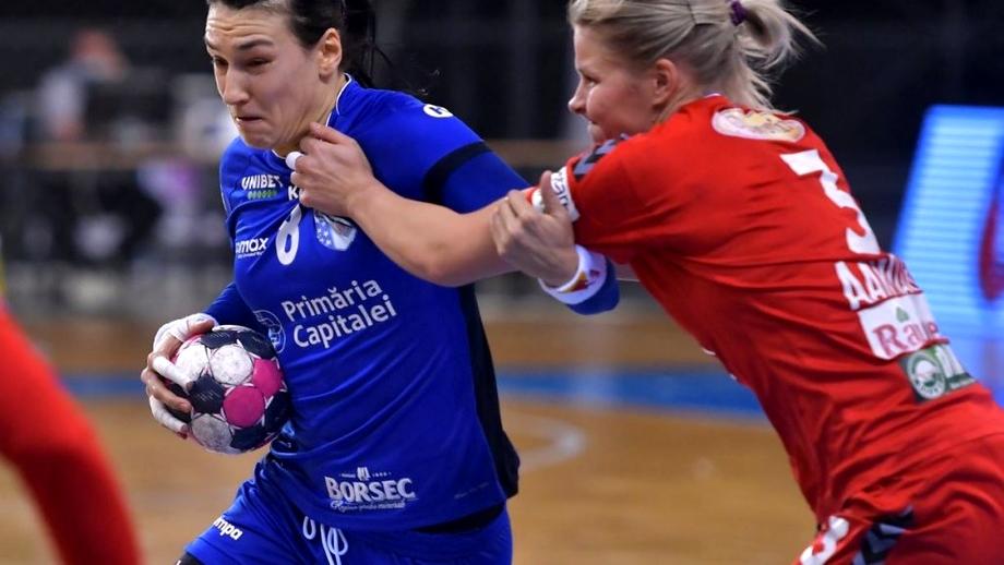 CSM București, dominatoare în derby-ul cu Râmnicu Vâlcea! Neagu și-a condus magistral echipa spre succes