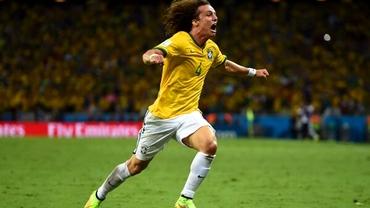 David Luiz, EROUL Braziliei şi candidat la golul Mondialului!