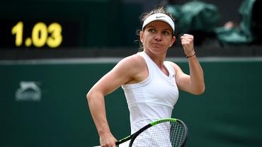 Simona Halep - Shuai Zhang 7-6, 6-1 în sferturi Wimbledon. Made in Romania! Calificare ISTORICĂ în semifinale! ACUM îşi află viitoarea adversară, prima reacţie şi lovitura financiară pe care a reuşit-o până acum