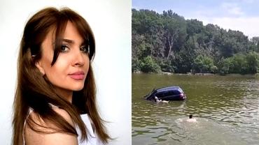 Cine este șoferița care a plonjat cu mașina în apa unui lac din Iași