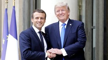 Donald Trump îl atacă dur pe Emmanuel Macron după ce președintele Franței a anunțat taxarea giganților americani din Internet