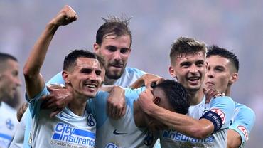 Jucătorii lui Nicolae Dică au petrecut după FCSB - Dinamo 3-3. Galerie foto