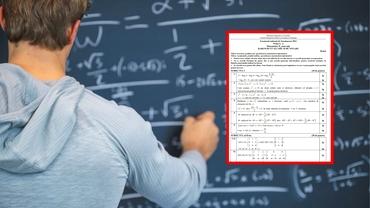 Bacalaureat 2021. Modele de subiecte la matematică