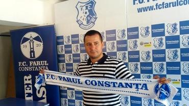 Ianis Zicu, antrenor principal la Farul Constanţa! Prima reacție.