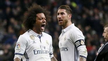 Scandal la Real Madrid. Sergio Ramos și Marcelo s-au înjurat reciproc!