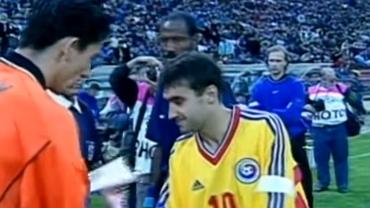 Cum arăta România U21 la primul meci de la EURO 1998! Imagini inedite cu selecţionata lui Victor Piţurcă! Video