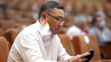 Victor Ponta acuză PSD-ul condus de Marcel Ciolacu că face blaturi cu PNL, pentru a-l salva pe Ludovic Orban