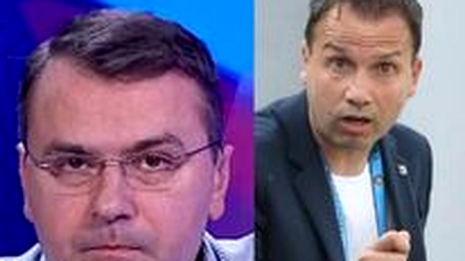 """Scandal în direct la TV între Vali Moraru și Sorin Paraschiv: """"Era numele tău pe contract?"""" / """"Sunt niște prostii"""""""