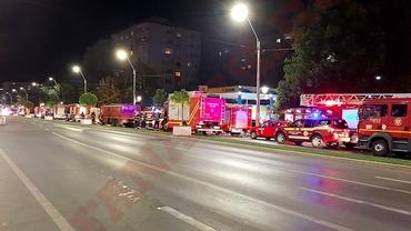 Plan roșu activat și zeci de mașini de pompieri la Spitalul Budimex, în urma unui apel de incendiu la 112. Ce s-a întâmplat, de fapt. Foto exclusiv