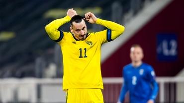 Zlatan Ibrahimovic ratează Euro! Accidentarea la genunchi i-a spulberat visul suedezului