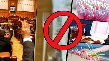 Care sunt produsele de plastic interzise în primă fază în România! De când intră în vigoare ordonanța de urgență