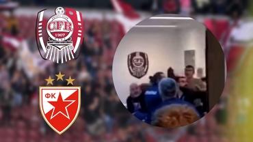 Imagini halucinante în Gruia! Bătaie în vestiarul lui CFR Cluj după înfrângerea cu Steaua Roşie Belgrad: