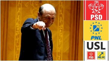 Cum au încercat PSD şi PNL suspendarea preşedintelui! Nouă ani de la atacul USL împotriva lui Traian Băsescu