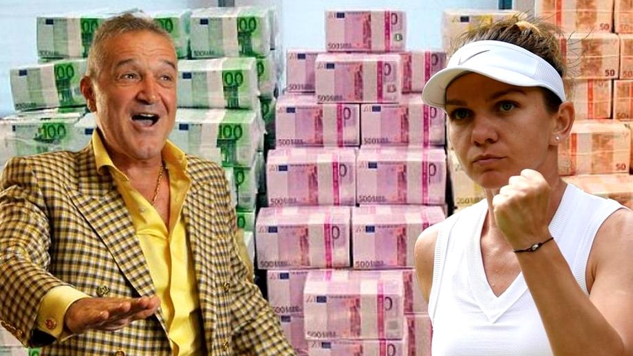 Câţi bani au Simona Halep, Gigi Becali şi cei mai bogați români din sport în 2020, conform Top 300 Capital