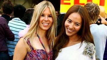Frumoasele iubite ale Formulei 1