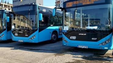 Noi reguli de circulație cu mijloacele de transport în comun. STB scoate pe traseu toate vehiculele din 18 mai
