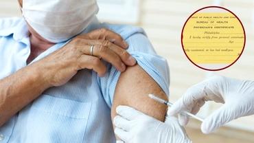 Cu ce ocazie a fost eliberat primul certificat de vaccinare. Documentul are sute de ani vechime