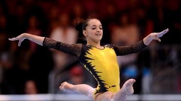 Larisa Iordache, una dintre cele mai frumoase domnişoare din lotul naţional de gimnastică!