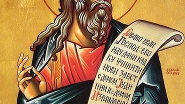 Calendar ortodox 1 mai: pomenirea sfântului prooroc Ieremia